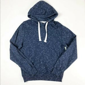 Sunday Work Clothes Large Navy Blue Sweatshirt